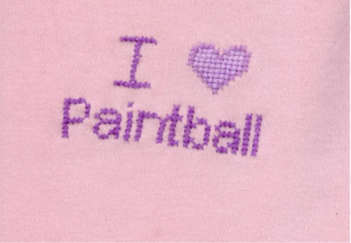 I love Paintball